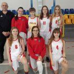 Dziewczyny zgimnazjum naLeśnej najlepszymi koszykarkami wpowiecie
