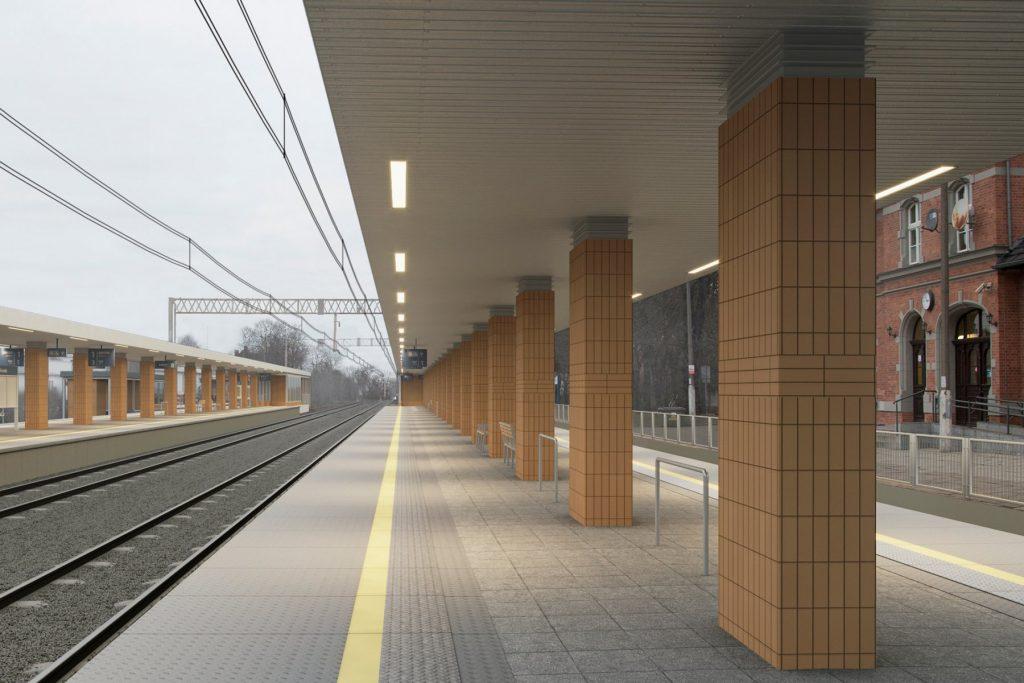 Wronki przebudowa dworca nowe perony