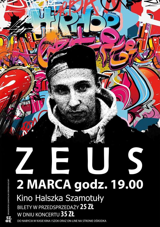 Zeus koncert Szamotuły