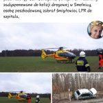 Barbara Białyńska dziękuje zapomoc wwypadku