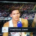 Finał sztafety 4x400m zTymoteuszem Zimnym – Polacy zIV miejscem
