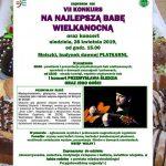 Zaproszenie doMniszek – nawielkanocną babę :)