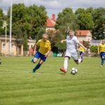 Julia Rusinek gra naMistrzostwach Polski wPiłce Nożnej Kobiet