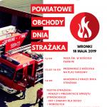 Powiatowe Obchody Dnia Strażaka weWronkach
