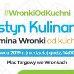 """Festyn """"Gmina Wronki odKuchni"""" już wniedzielę"""