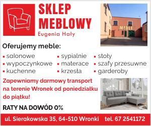 sklep meblowy Eugenia Hały Wronki