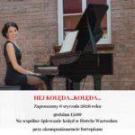 Hotel Wartosław zaprasza nawspólne śpiewanie kolęd