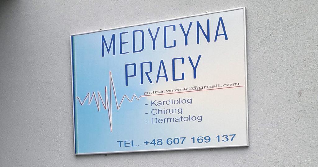 Medycyna pracy Wronki