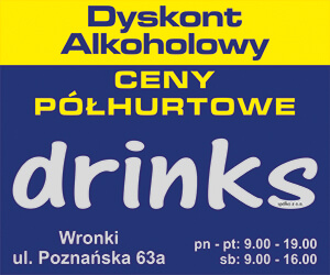 drinks dyskont alkoholowy wronki