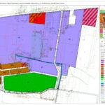 Poprawiony plan zagospodarowania przestrzennego terenu GS wyłożony dopublicznego wglądu