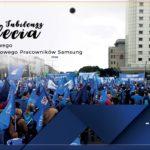Międzyzakładowy Związek Zawodowy pracowników Samsung Wronki podał informację