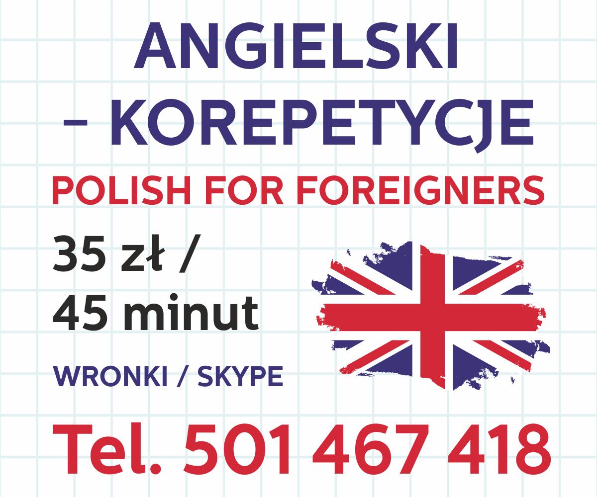 Korepetycje angielski Wronki