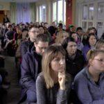 Spotkanie wiceburmistrza idyr.SAPO zrodzicami wsprawie naboru doprzedszkoli izerówek wroku szkolnym 2020/2021