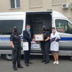 Wroniecki Zakład Karny przekazał maseczki szamotulskiemu szpitalowi