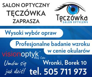 salon optyczny Tęczówka Wronki