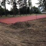Powstaje nowe boisko naLeśnej