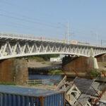 Remont mostu kolejowego okiem kamery Stefana Golona