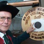 Brat Wojciech Frasunkiewicz tegorocznym Królem Piwnym wronieckiego Bractwa Kurkowego