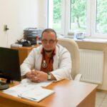 Doktor Piotr Nowak zwronieckiej przychodni ALFA pracuje już wGdańsku…