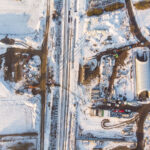 Budowa obwodnicy – zimowe zdjęcia zdrona – Podróże WW