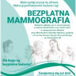 Bezpłatna mammografia dla kobiet wwieku 50-69 lat