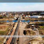 Film pokazujący postęp modernizacji linii kolejowej E-59 [wideo]
