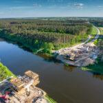 Już, już zachwilę nowy most połączy dwa brzegi Warty [foto]
