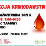 Zostań dawcą krwi!