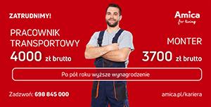 oferty pracy w Amica S.A.