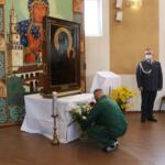 Nawiedzenie kopii obrazu Matki Boskiej Częstochowskiej wZakładzie Karnym